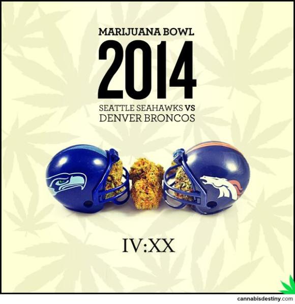 weed super bowl showdown